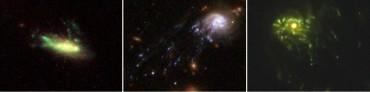 Новая теория объясняет наличие галактик в форме медуз