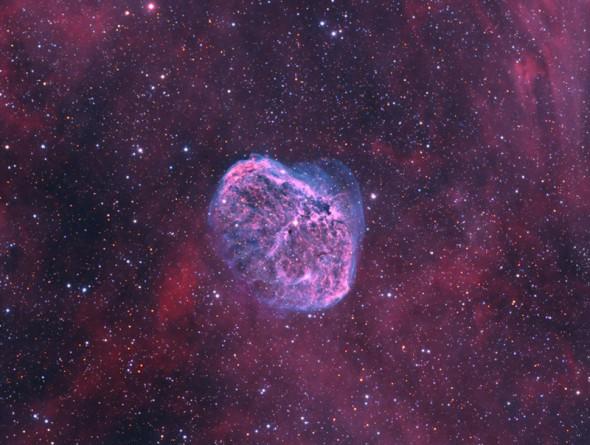 Туманность Полумесяц (NGC 6888)