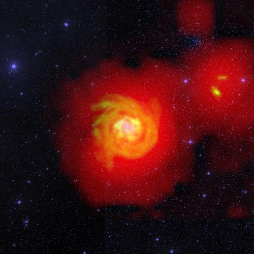 Астроном увидел реку водорода в космосе