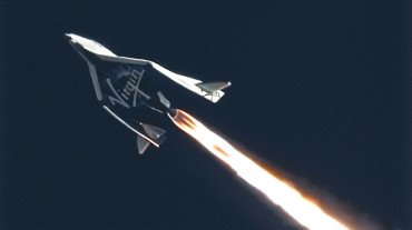 Космический корабль SpaceShipTwo совершил удачный полет