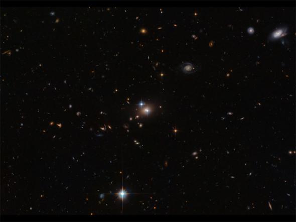 Космическая иллюзия от Хаббла