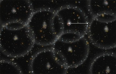Ученые измерили расстояния до далеких галактик