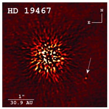 Ученые получили прямое изображение коричневого карлика