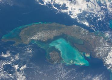 Куба из космоса