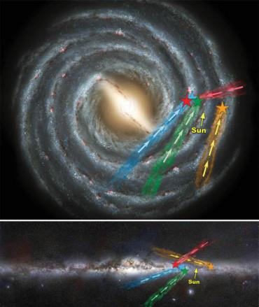 Обнаружен новый класс «гиперзвуковых звезд»