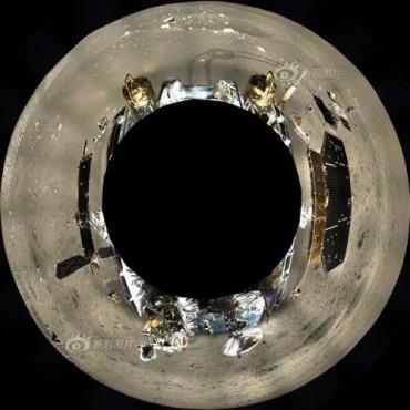Первая панорама Луны на 360 градусов от китайской лунной миссии