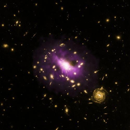 Триллионы звезд не сформировались из-за черной дыры