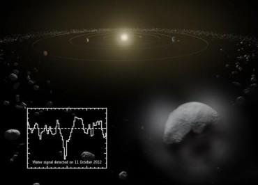 Телескоп заметил водяной пар на карликовой планете Церера