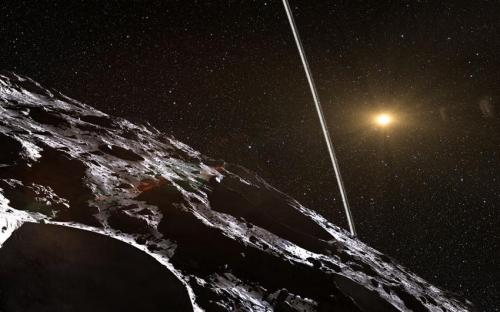 Впервые найден астероид с системой колец