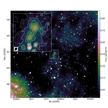 Открытая галактика стала головоломкой для ученых