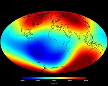 Ученые зафиксировали изменения в магнитном поле Земли