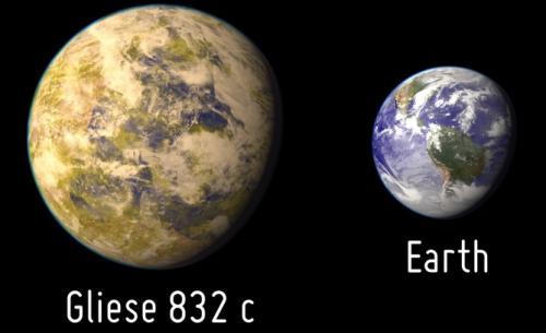 Gliese 832c не может поддерживать жизнь