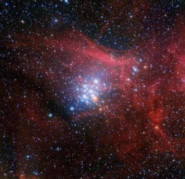 Звездное скопление NGC 3293
