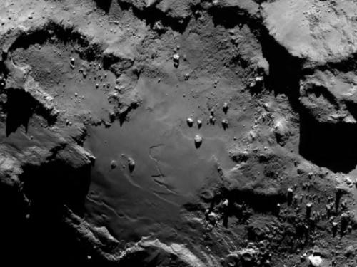 Комета Чурюмова-Герасименко крупным планом