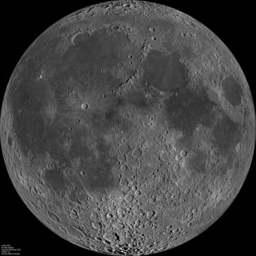 Солнечный ветер создал большую часть воды на Луне