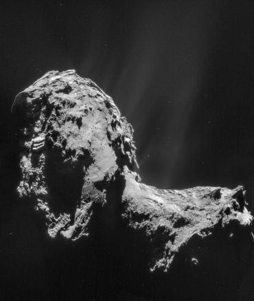 Кома кометы Чурюмова-Герасименко