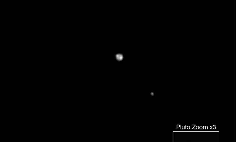 Обнаружены полярные шапки на Плутоне