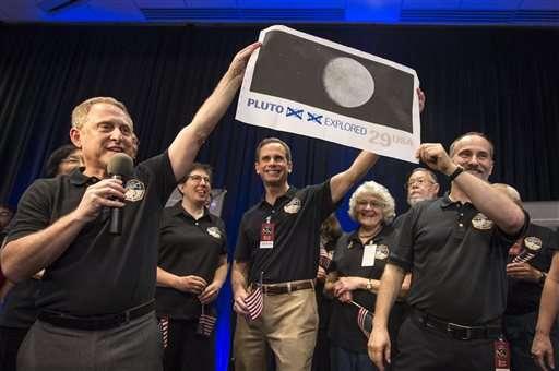 Снимок Плутона от New Horizons