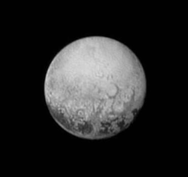 New Horizons передал данные о Плутоне
