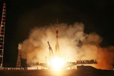 «Союз» с новым экипажем МКС стартовал с Байконура