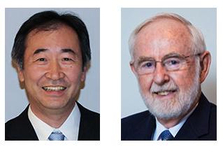 Артур Б. Макдональд (Канада) и Такааки Каита (Япония)