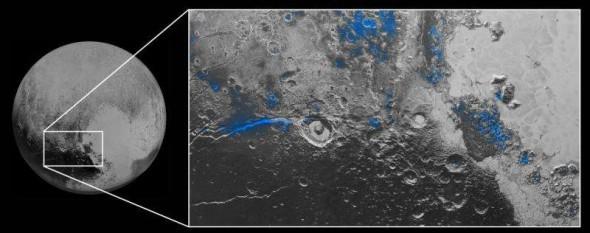 Лед на Плутоне