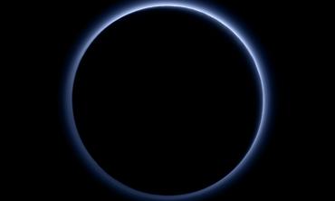 Голубое небо над Плутоном