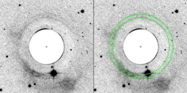 Ионизированный ореол планетарной туманности IC 5148