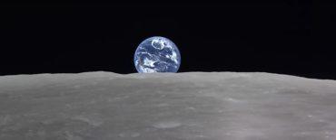 Восход Земли на Луне