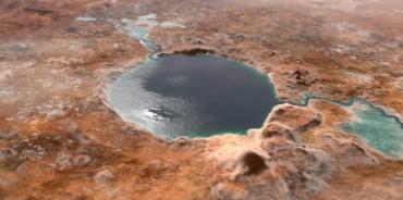 Кратер Езеро на Марсе был озером